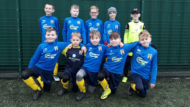 Proud to be sponsoring youth football
