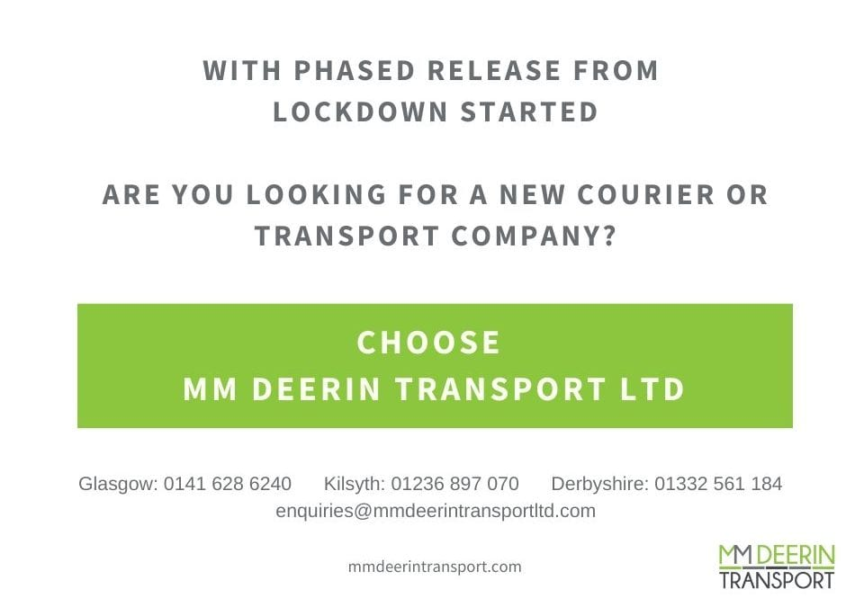 ARE YOU LOOKING FOR A NEW COURIER OR TRANSPORT COMPANY? Choose MM Deerin Transport Ltd