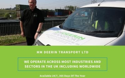 MM Deerin Transport Ltd operates across most industries and sectors in the UK including *Worldwide