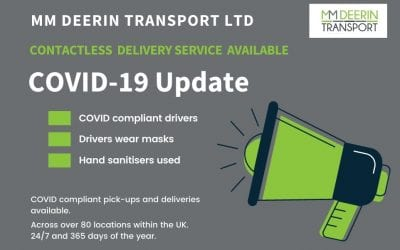 MM DEERIN TRANSPORT – CONTACTLESS DELIVERY SERVICE